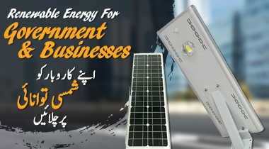 Solar Panel For Government & Businesses